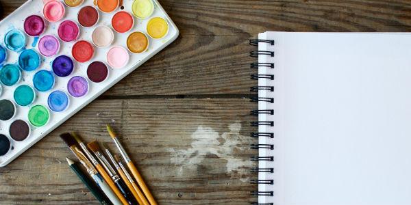 Imagen post creatividad en niños