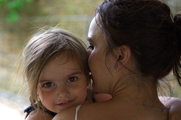 Imagen niños y mamás