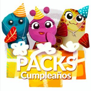 Imagen Pack Cumpleaños de Aprende con BöH