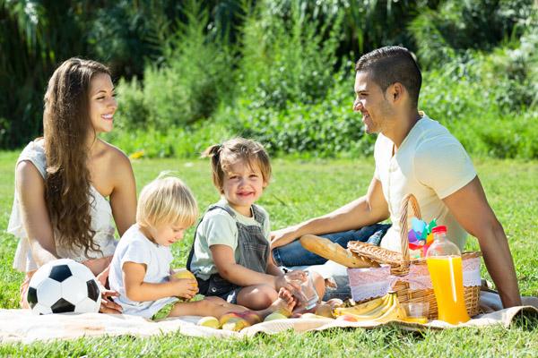 Imagen post picnic con niños